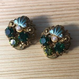 Beautiful vintage earrings from West Germany